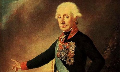 А.В. Суворов (И. Крейцингер)