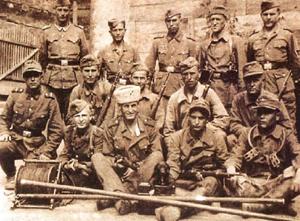 рота казаков-связистов из 2-го казачьего кавалерийскго Сибирского полка
