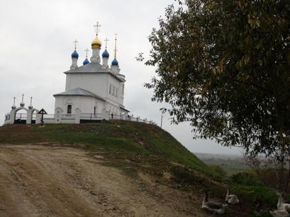Федосеево городище и Успенский монастырь