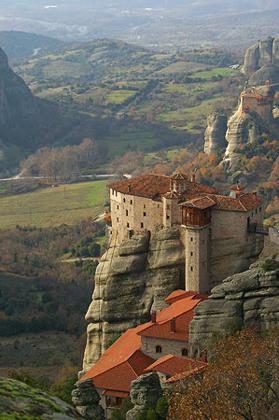 Монастырь Русану или святой Варвары (Метеоры)