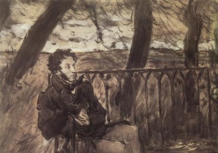 Встреча преподобного Серафима и поэта Пушкина