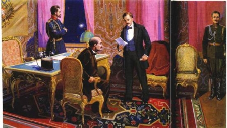 Отречение императора и каинова печать