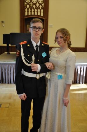 Первый кадетский бал в районе Бирюлево Восточное